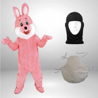 Hase-Lauffiguren-Kostueme-Maskottchen-rosa