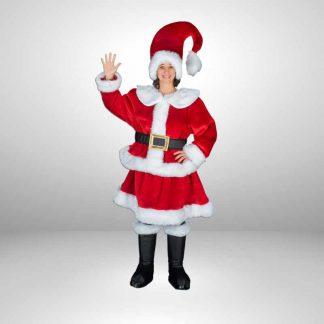 Weihnachtsfrau-Kostuem